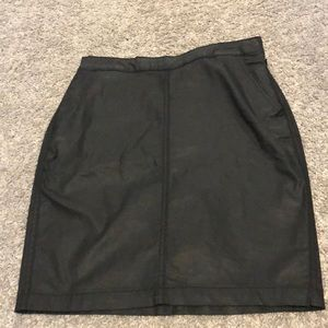 Banana Republic Factory Skirts - Faux leather skirt
